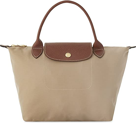 Longchamp Le Pliage Petit sac à main fourre tout Beige