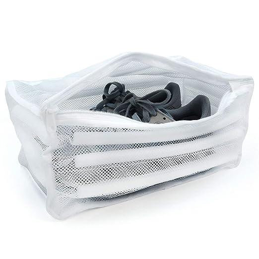 EUROXANTY® Bolsa de Red Almohadillada para Lavar Zapatillas