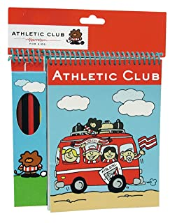 Athletic Club Bilbao Set di 6 Lapices con Blocco CYP 8426842033624