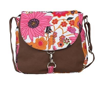 a6fa8350065 Vivinkaa Women s Sling Bag (Brown)  Amazon.in  Shoes   Handbags