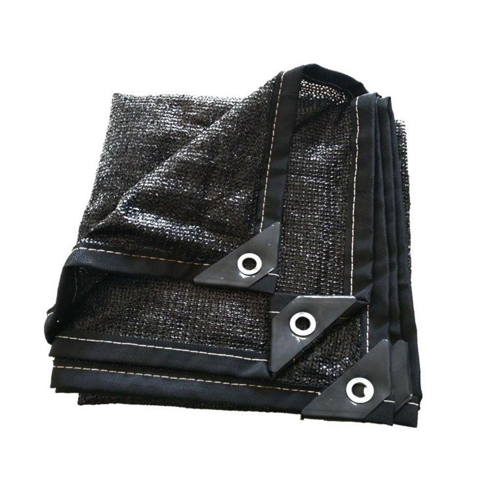 noir 46m AJZGF Tissu imperméable à l'eau imperméable Filet d'ombrage, 8-pin cryptage Isolation Solaire crème Net Voiture Balcon Toit écran Solaire d'ombrage