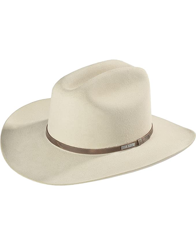 7cb499f7 Amazon.com: Resistol Men's John Wayne 6X Fur Felt Duke Cowboy Hat -  Rfduke-4034-71: Clothing
