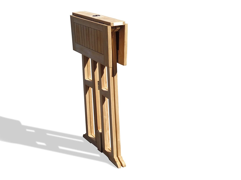 Amazon.com: Windsor - Juego de 3 barras de teca de grado A ...