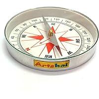 Artshai big 3 inch size magnetic compass direction finder