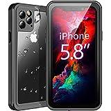 Temdan Waterproof iPhone 11 Pro Case, 360 Rugged Heavy Duty Full Body Shockproof Clear Case Built in Screen Protector…