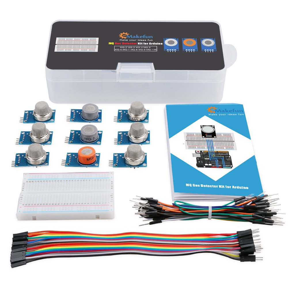 Amazon.com : Emakefun MQ Gas Sensor Module Kit with Tutorial for ...