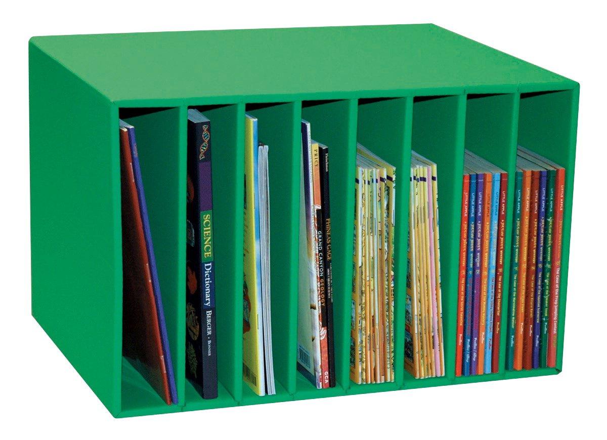 Classroom Keepers Literature Center, Green,  11-1/4''H x 17-3/8''W x 12-1/4''D, 1 Piece