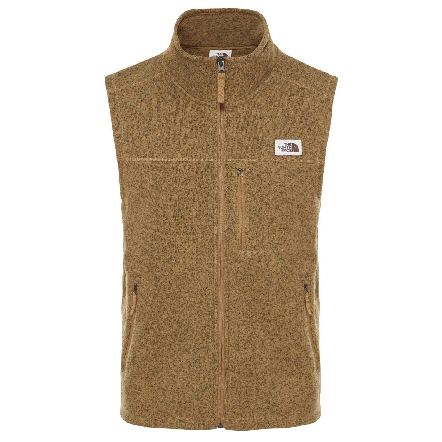 The North Face Men's Gordon Lyons Vest, British Khaki Heather, S by The North Face