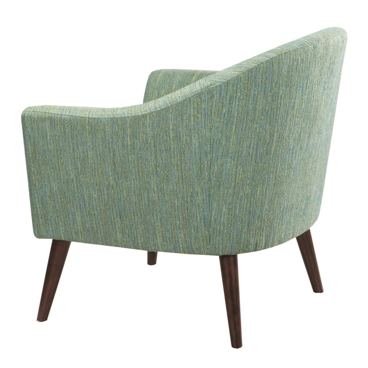 Bon Amazon.com: Madison Park Grayson Accent Chairs   Hardwood, Birch, Textured  Fabric Living Room Chairs   Pale Green, Modern Classic Style Living Room  Sofa ...