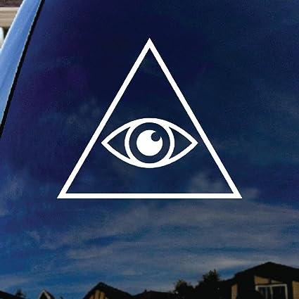 SoCoolDesign Illuminati Eye Car Window Vinyl Decal Sticker 4