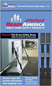 Ready America 4521 Universal Flat Screen Safety Straps