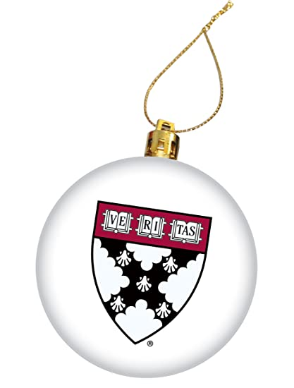 Harvard University Holiday Christmas Ornament, Design 1 - White - Amazon.com : Harvard University Holiday Christmas Ornament, Design 1