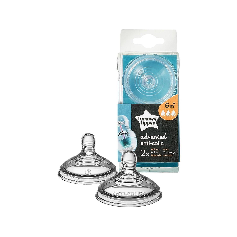 BPA-frei Advanced Anti-Colic Medium Flow Sauger von Tommee Tippee 2/in einer Packung ab 3/m