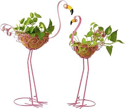 Flamingo Outdoor Planters
