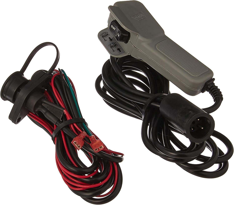 Amazon Com Warn 99896 Winch Accessory Atv Remote Control With Socket Plug Automotive