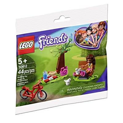 LEGO 30412 Friends Picnic Park Polybag (44 pcs): Toys & Games