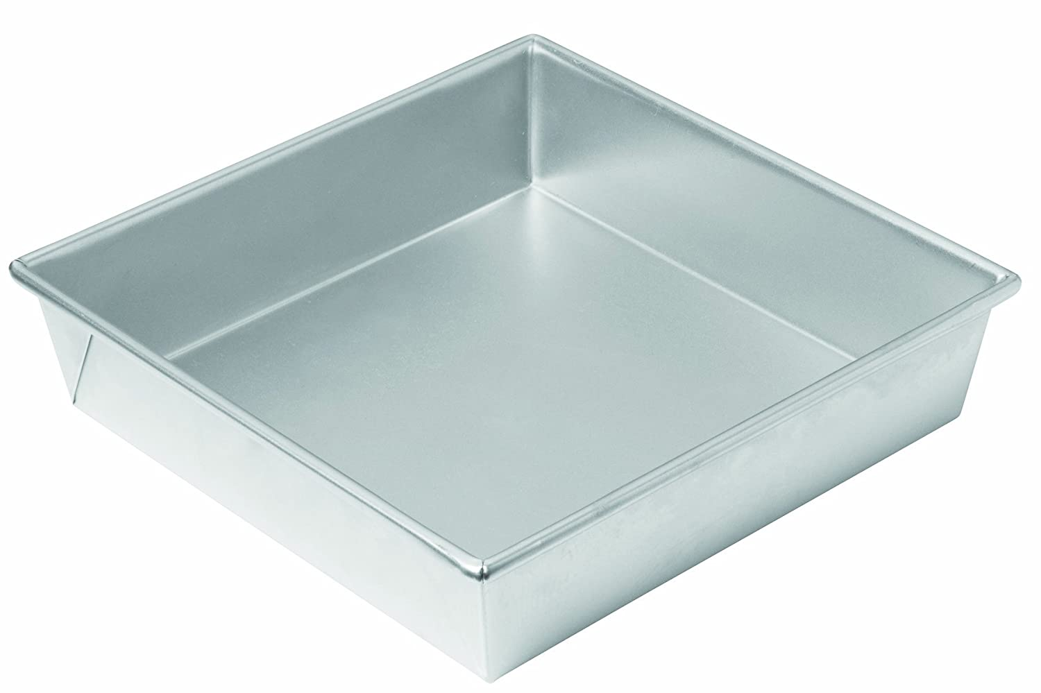 Chicago Metallic 49953 9-Inch Commercial II Traditional Uncoated Square Cake Pan