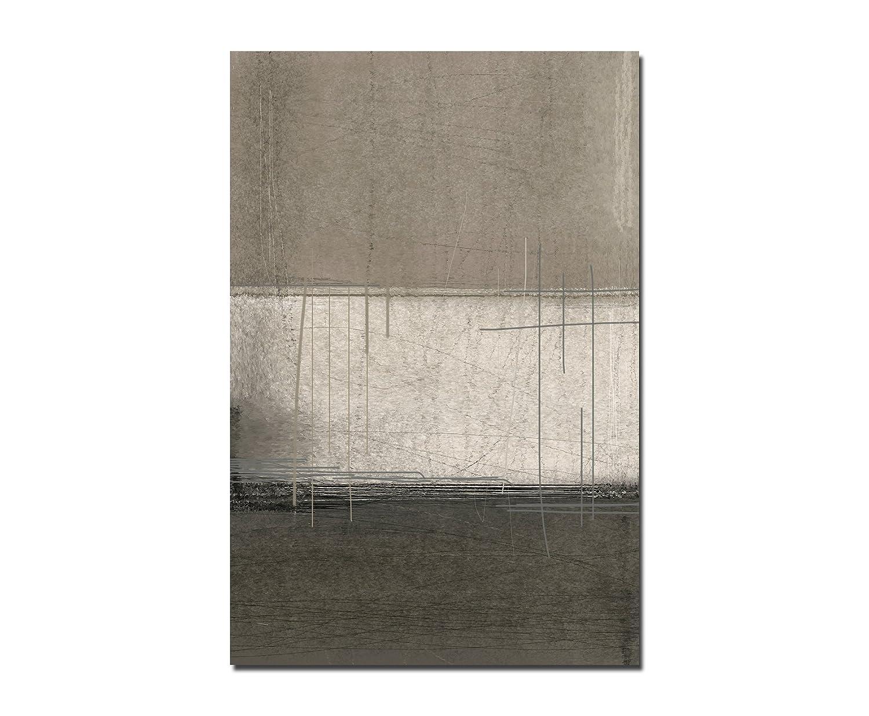 120x 80cm–murale arte pittura astratta marrone/beige–Tela su telaio modern elegante–immagini e decorazioni Paul Sinus Art