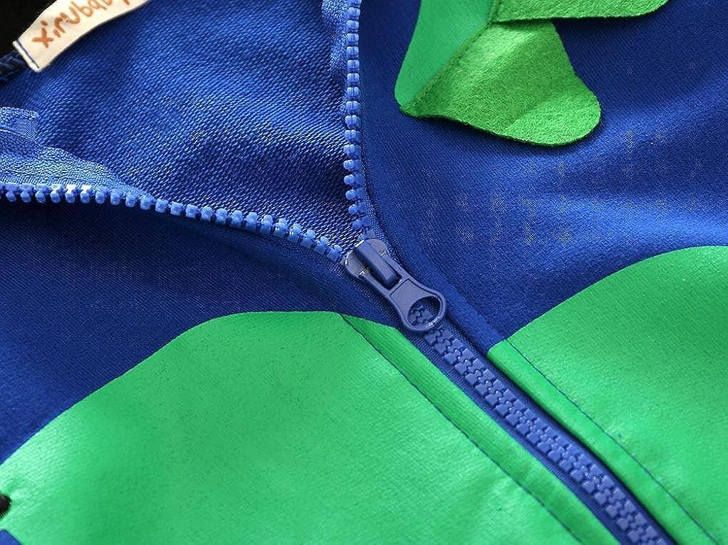 Hoody Coat en Coton Chaud Baby Boy Tops Automne Hiver Manteau avec Oreille de Chat Koly Veste /à Capuche V/êtements Enfant B/éb/é Gar/çon Mignonne