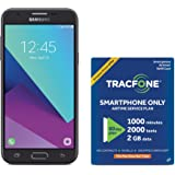 TracFone Samsung Galaxy J3 Luna Pro 4G LTE Prepaid Smartphone with Amazon Exclusive Free 40 Airtime Bundle