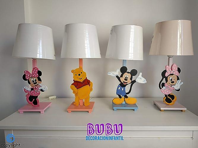 Lámparas infantiles con personaje infantil personalizado ...