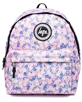 efafba6f12 Image Unavailable. Image not available for. Colour  Hype Backpack Bags  Rucksack - Pastel Paint Design - Ideal School Bags - For Boys and