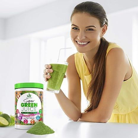 Amazon.com: Green Juice Superfood en polvo (suministro de 30 ...