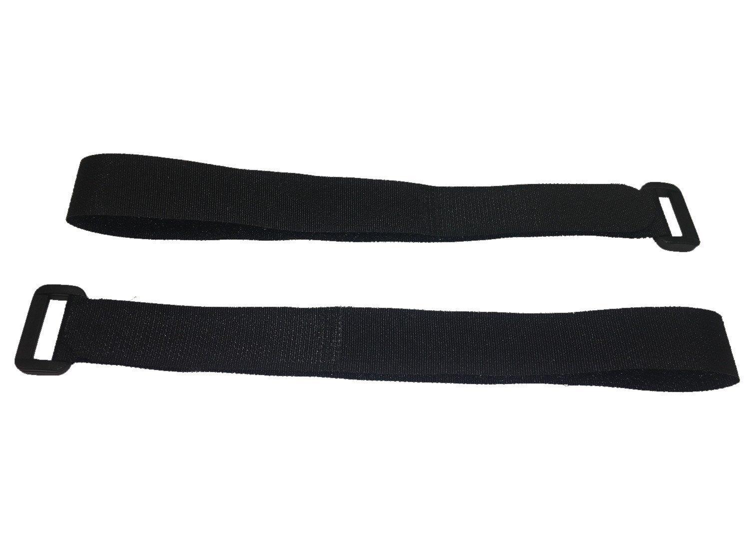 30x FrogJim Klett-Kabelbinder 10cm schwarz mit Schnalle wiederverwendbares Klettband 10cm - 30er-Pack 20mm breit Nylon mit wiederverschlie/ßbarem Zip-Beutel KKS1030