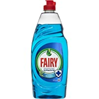 Fairy Antibacterial Dishwashing Liquid Eucalyptus 625ML- For Up To 24 Hours Against Bacterial Growth