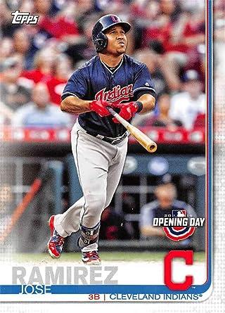 Jose Ramirez Cleveland Indians Autographed Signed Black Baseball Bat JSA COA