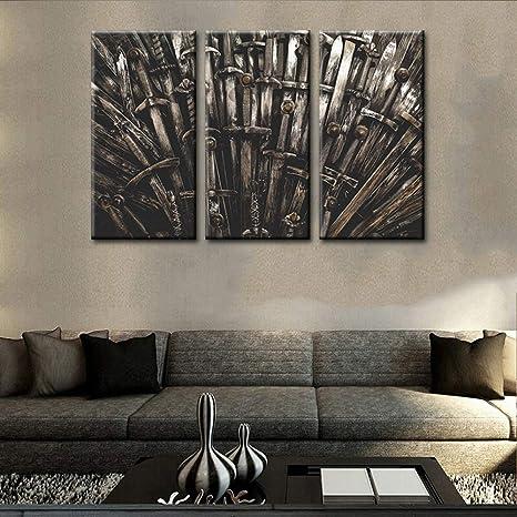 GOT art prints wall art prints House of Dragons prints digital download posters GOT artwork Set of 3 Game of Thrones Wall Prints