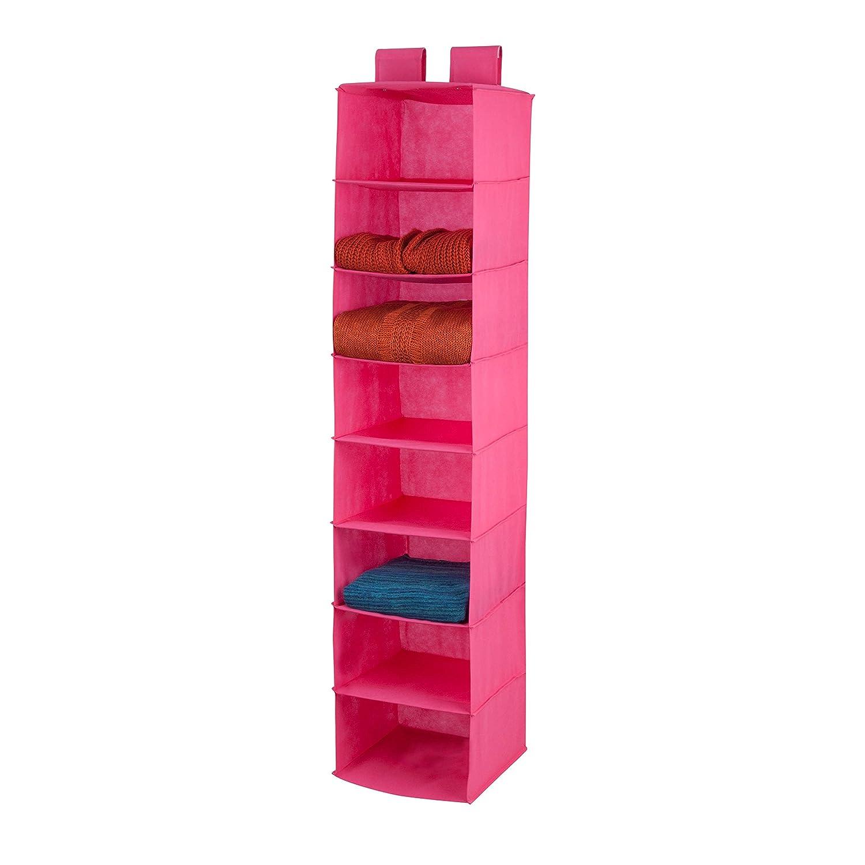 Honey-Can-Do 8-Shelf Non-Woven Hanging Closet Organizer, Ocean Blue Honey Can Do HK Limited SFT-02820