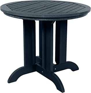 """product image for highwood AD-DRT36-FBE Adirondack Round Height Dining Table, 36"""", Federal Blue"""