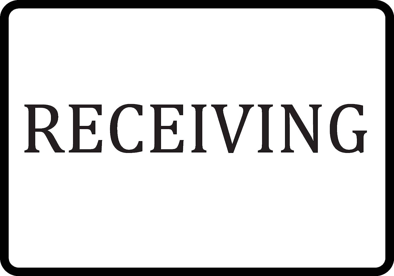 Receiving Sign Plastic Single