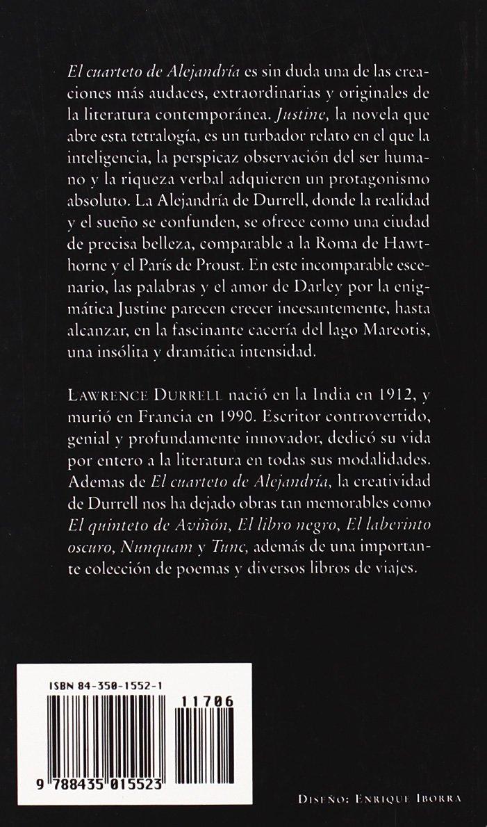 Justine - El Cuarteto de Alejandria I (Spanish Edition ...