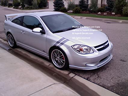 2010 Cobalt Ss >> Amazon Com Cobalt Ss Grand Sport Stripes Chevy Fender Hash Mark