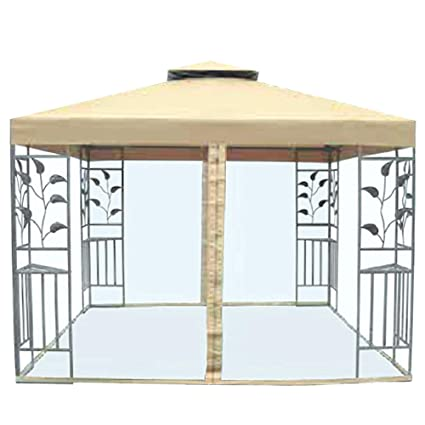 watch 66356 43d67 Garden Winds Replacement Canopy Top Cover for The Aldi Leaf Gazebo -  Standard 350