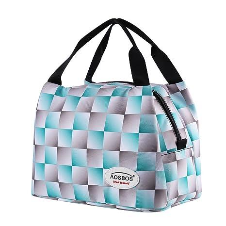 Amazon.com: Bolsas de almuerzo térmicas reutilizables ...