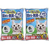 アイリスオーヤマ クリーン&フレッシュ Ag+  猫砂 8L×2袋 KFAG-80