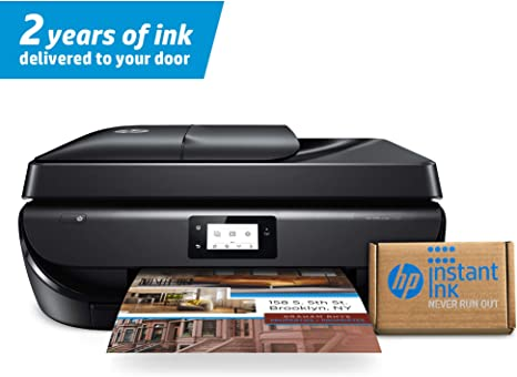 HP OfficeJet 5260 Wireless All-in-One Printer – includes 2 Years of Ink Delivered to Your Door (Z4B13A)