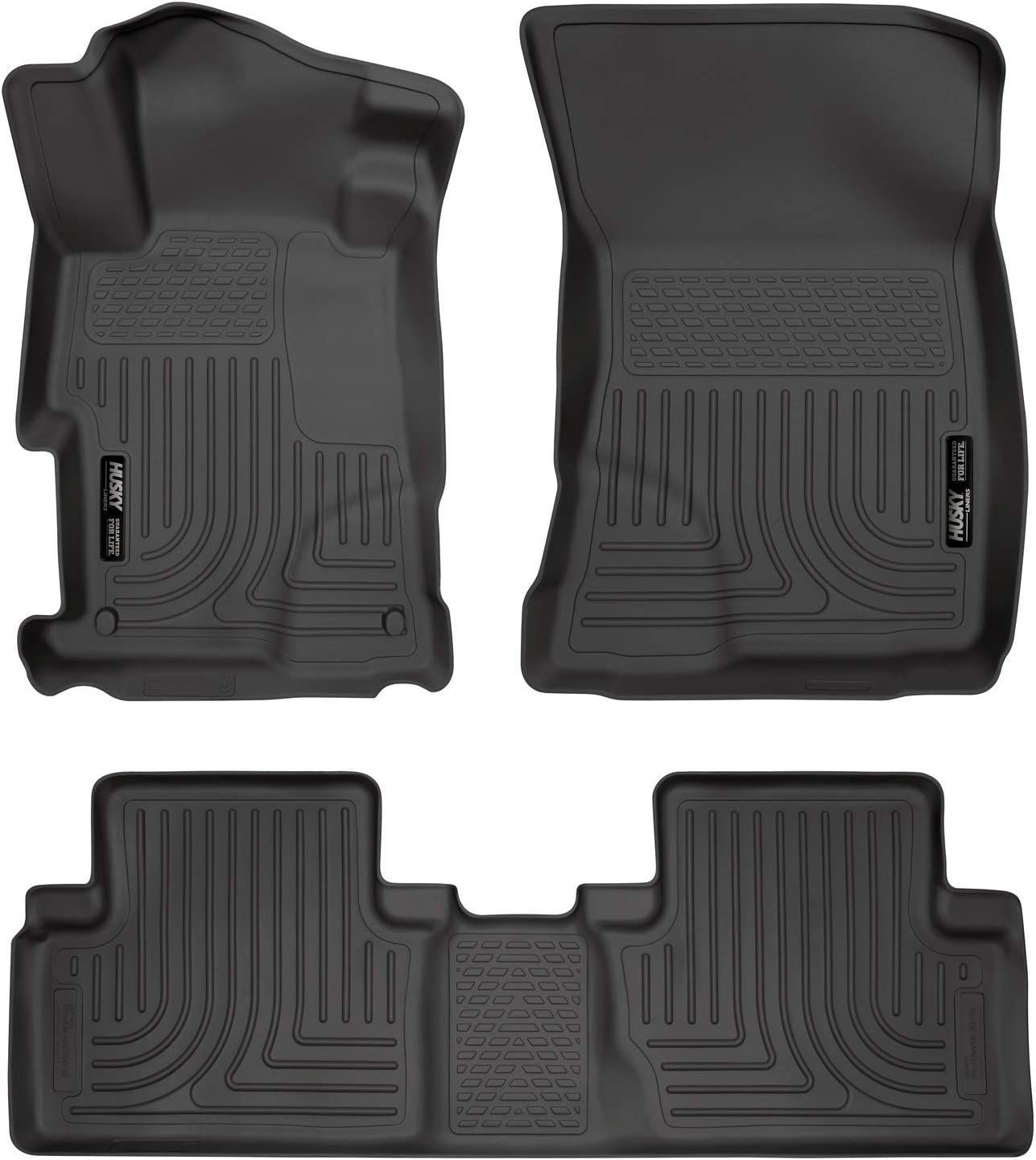 Husky Liners Fits 2012-13 Honda Civic 4 Door Weatherbeater Front /& 2nd Seat Floor Mats