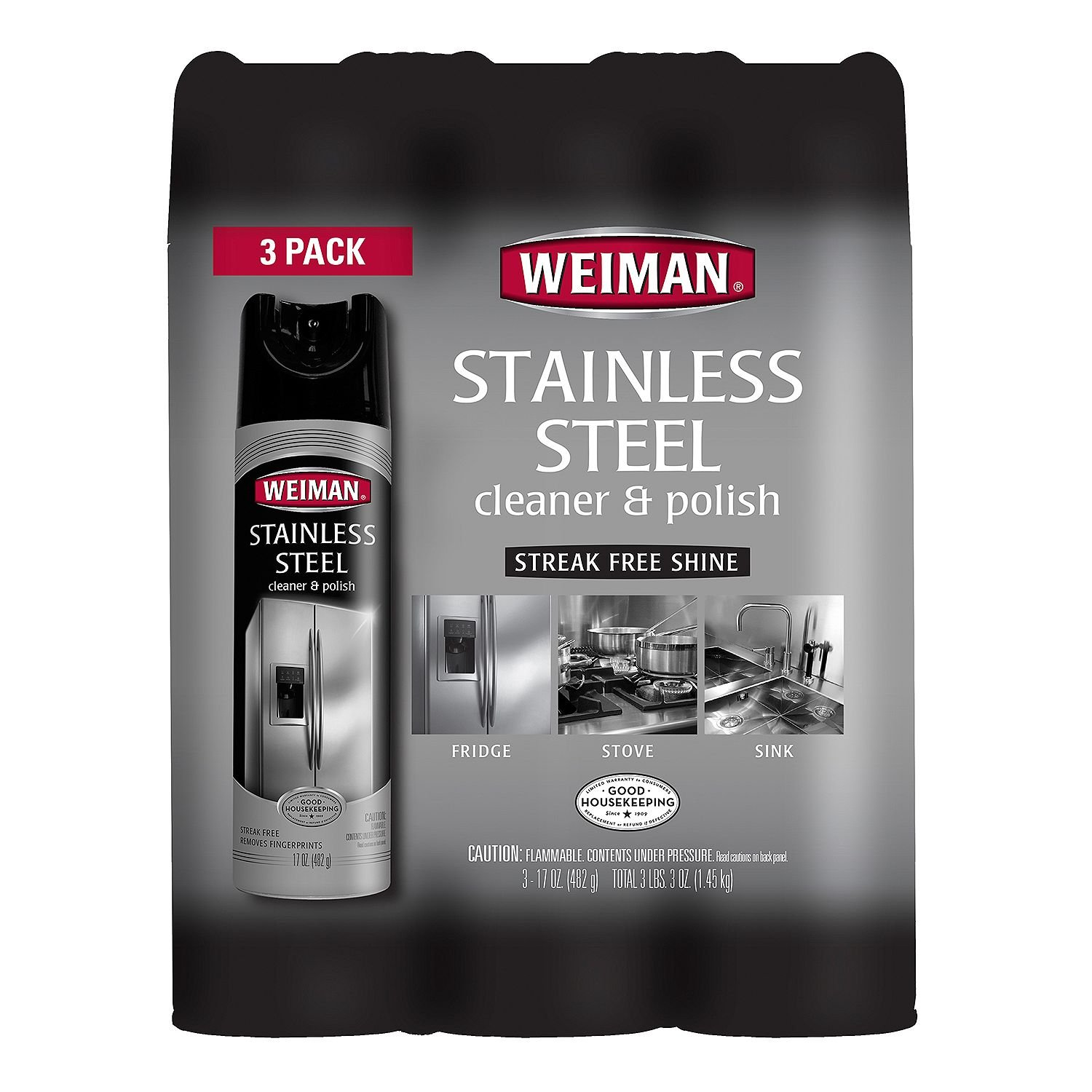 Weiman Stainless Steel Cleaner & Polish by Weiman