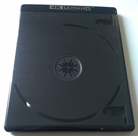 10 PK Premium VIVA ELITE Double Discs 4K Ultra HD Black Blu-ray Replace Case Holder