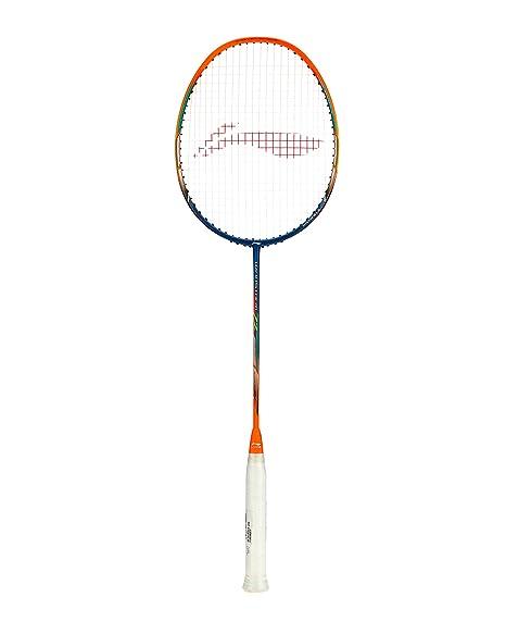 Li Ning Windstorm 72 Super Light Professional Badminton Racket  Grip:S2, Weight:72g  Racquets