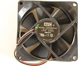 Dell Printer H317J Cooling Fan C8025S24UA Printer 2230D 2330D 2350DN 3330DN 3333DN