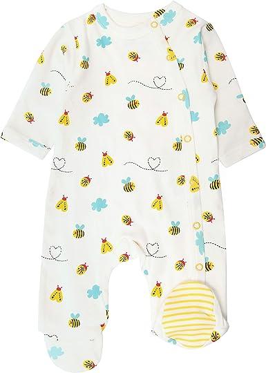 Piccalilly Pijama de bebé con pies, jersey suave, 100 ...