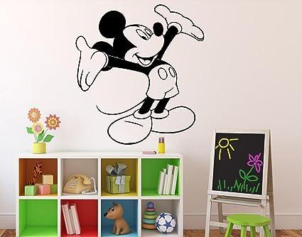 Amazon Com Mickey Mouse Disney Wall Decal Cartoon Vinyl Sticker