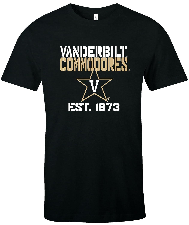 best service 8bcb3 35300 Amazon.com   Image One NCAA Unisex NCAA Est Stack Jersey Short Sleeve T- Shirt   Clothing