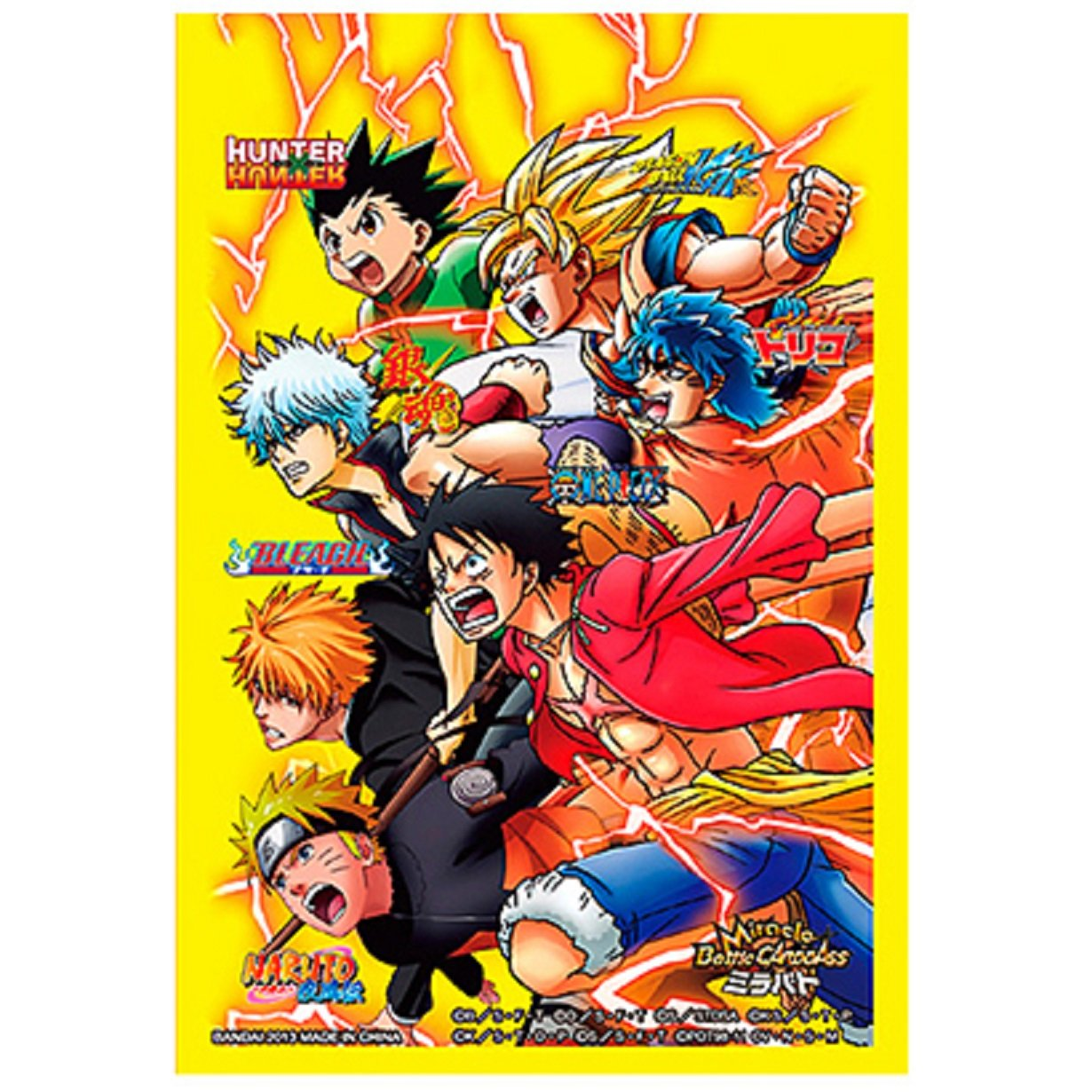ALL STAR HEROES One Piece Naruto Bleach Dragon Ball Z ...