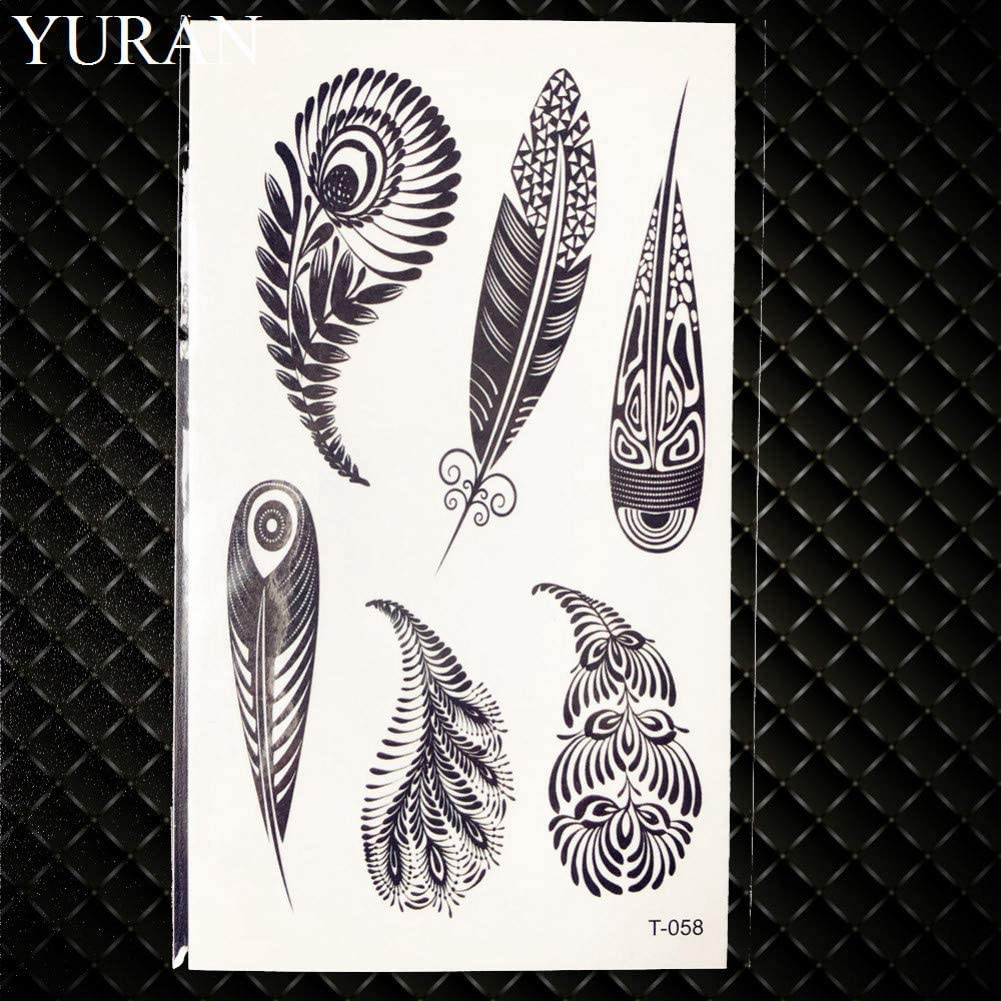 GHHCG Girasol Impermeable Tatuaje Mujeres Maquillaje Manos Tatuaje ...
